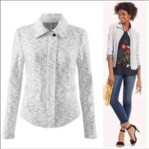 CAbi #5102 Neo French Terry Jacket Blazer